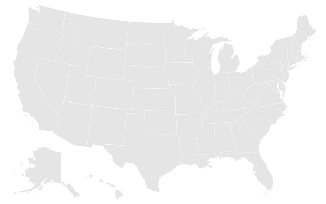 United States Map Drawing